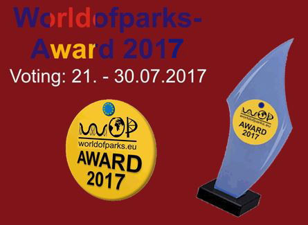 "Worldofparks - EU-Voting"" – Der ""Worldofparks-Award 2017"