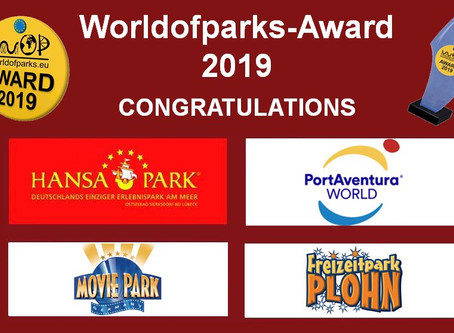 "Worldofparks - EU-Voting"" – Der ""Worldofparks-Award 2019"