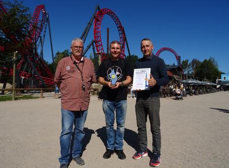Freizeitpark Plohn erhält Worldofparks-Award für Coaster Dynamite