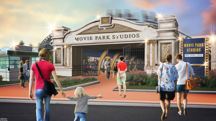 """Willkommen in den Movie Park Studios!"""