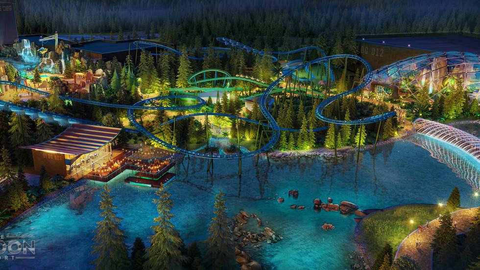 The London Resort - Stand des Projektes im August 2021
