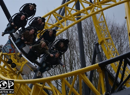Walibi Holland - Lost Gravity Eröffnung 2016