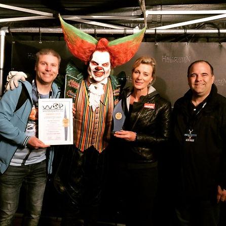 Walibi Holland Halloween Fright Nights Award Presentation 2018