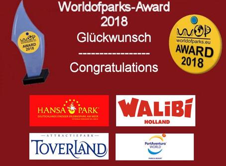"""""""Worldofparks-Award 2018 - Die Gewinner"""""""