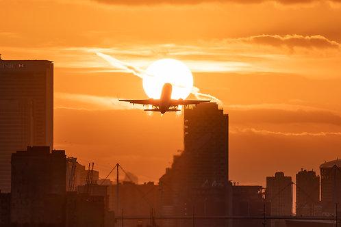 Sunset Departure