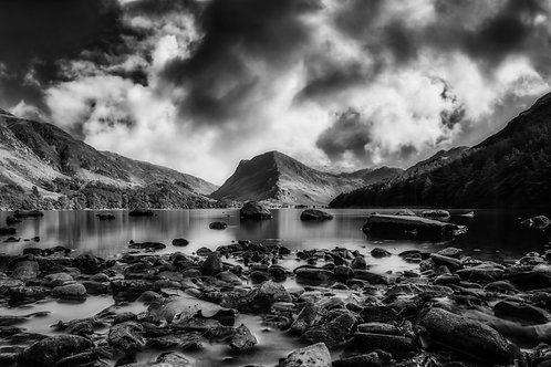 Buttermere - The Lakes - Monochrome
