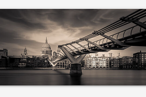 The lady on the bridge