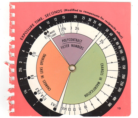 Old Exposure Chart
