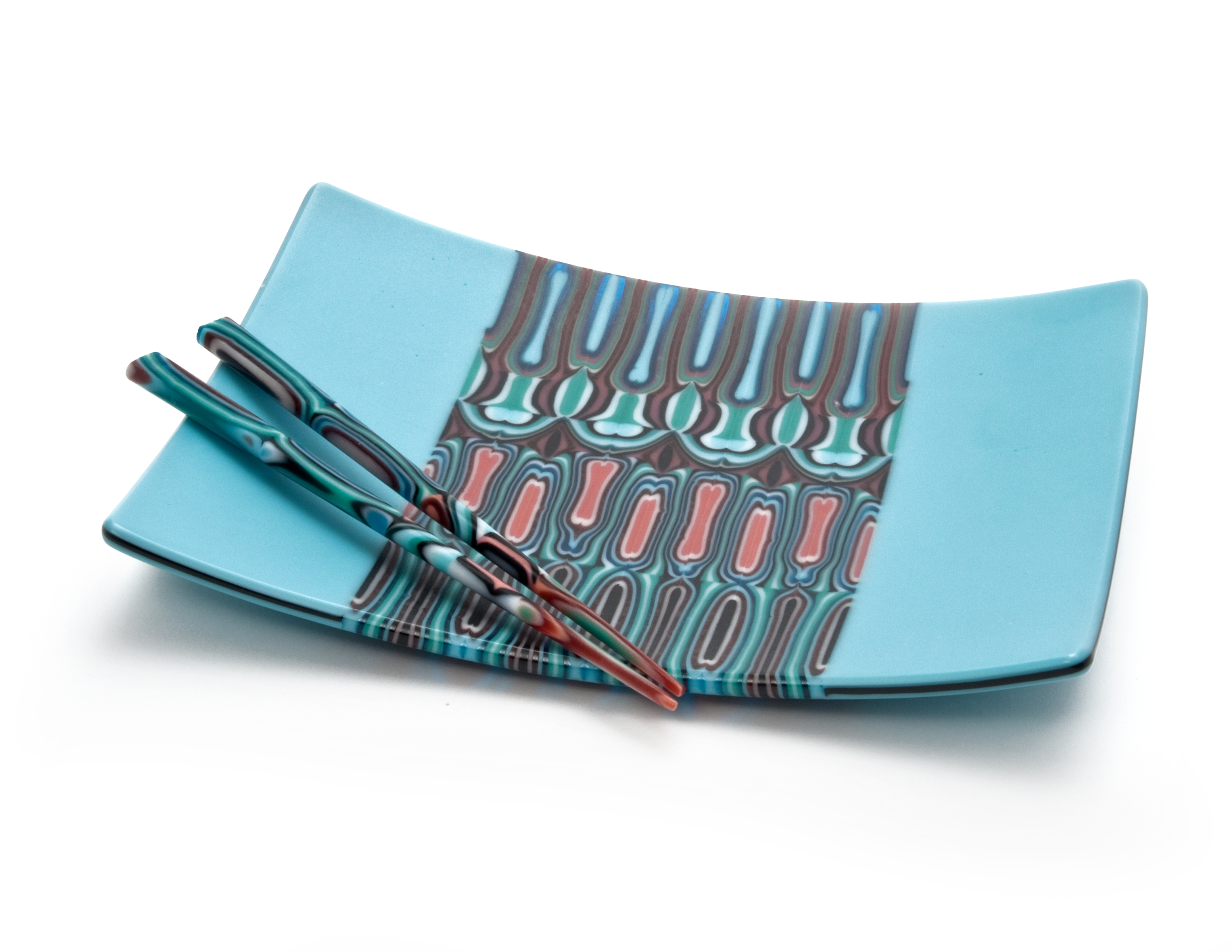 Turquoise with Pattern Bar