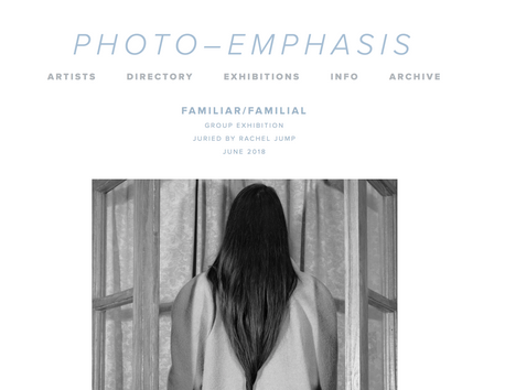Photo- Emphasis Juried Exhibition