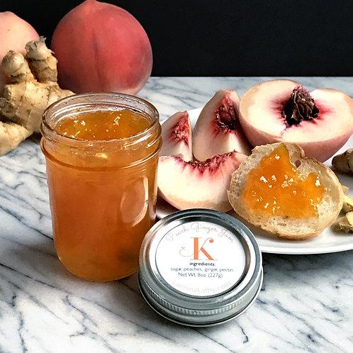 Peach Ginger Jam