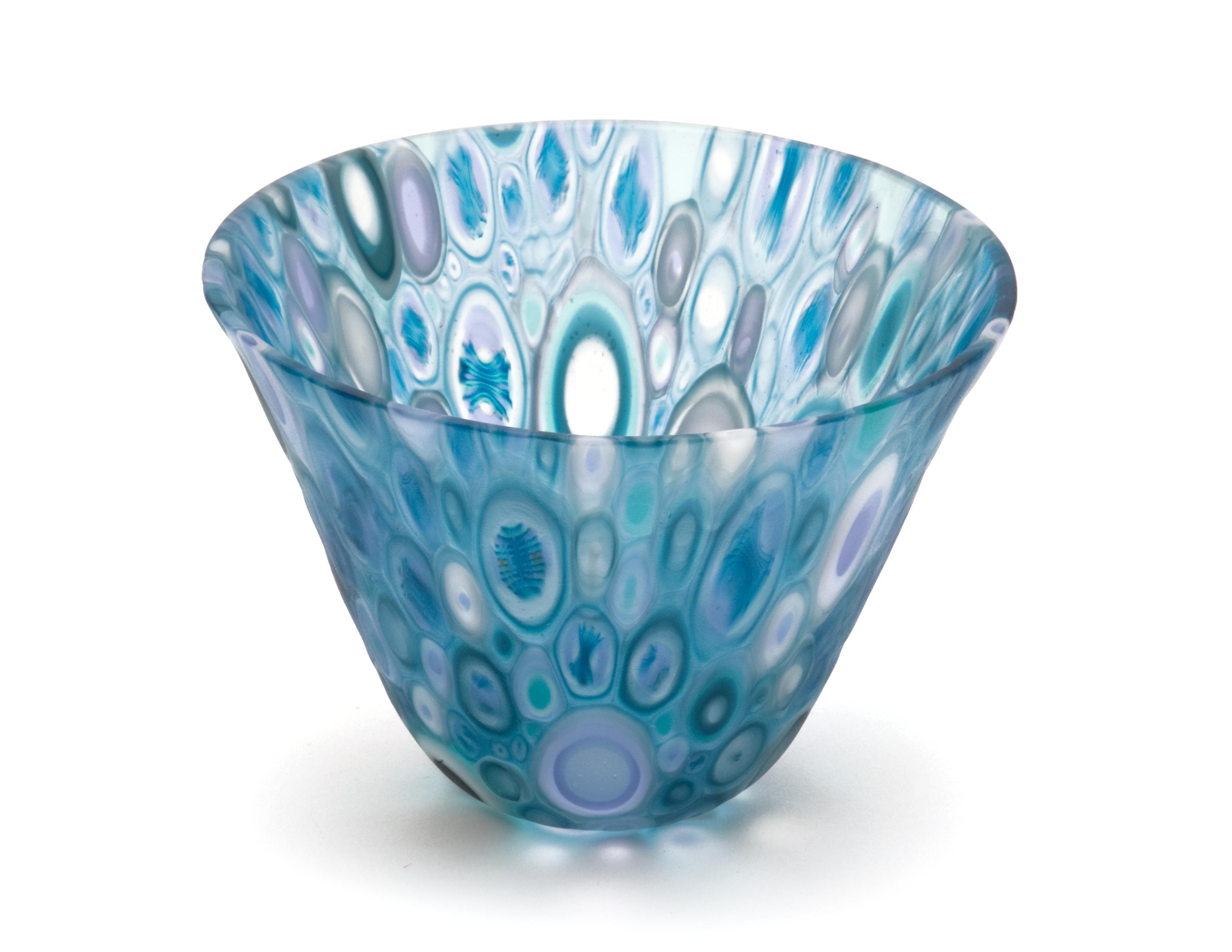 Small Blue Murrine Bowl