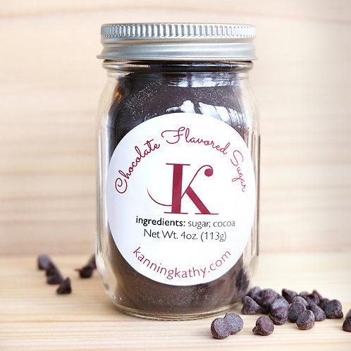 Chocolate Infused Sugar