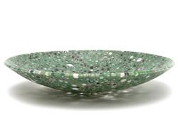 Large Bowl Green Murrine (View II)