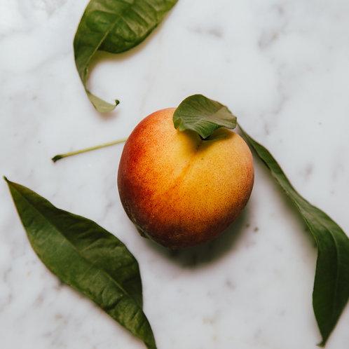 Peach Bourbon Vanilla Jam
