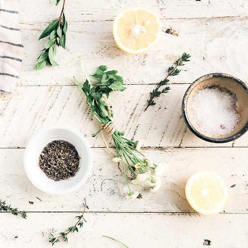 Lemon Thyme Infused Salt
