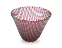 Transparent Plaid Bowl II