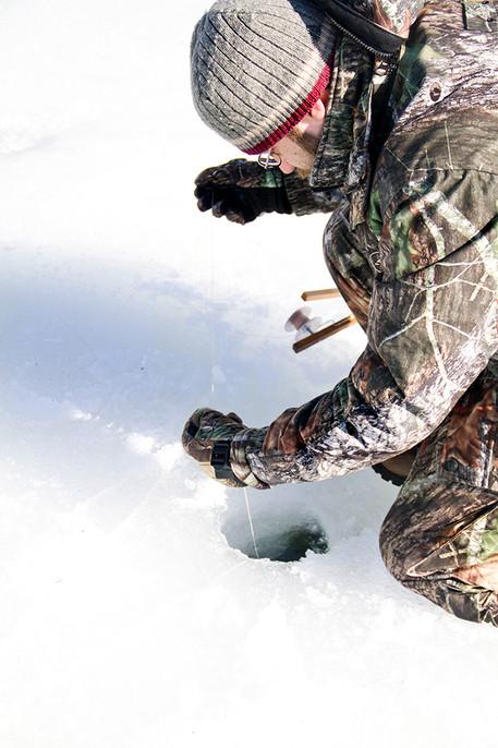 Ice Fishing in MA