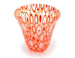 Orange Elipses Small Bowl
