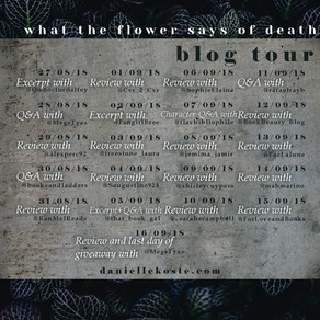 BLOG TOUR WEEK 1 WRAPUP - GIVEAWAY REMINDER