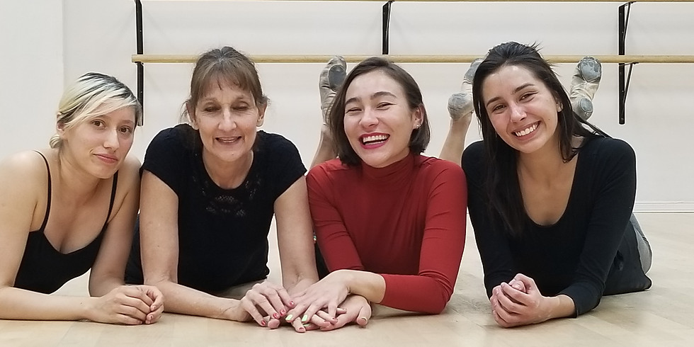 Absolute Beginner Adult Ballet: April 13 - May 18