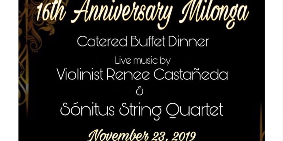 16th Anniversary Milonga