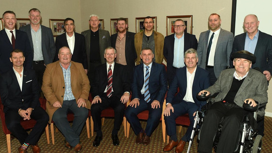 Parky Unites With Team Of 86