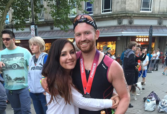 Bolton Fan Ste Tackling 2nd IronMan For Parky