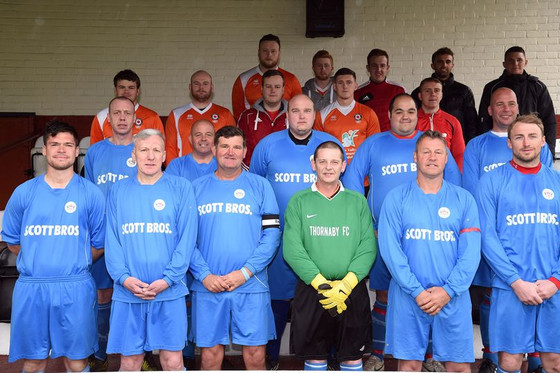 Thornaby Footballers Play For Parky