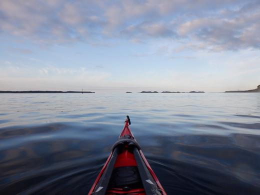The Eastern Isles at dusk