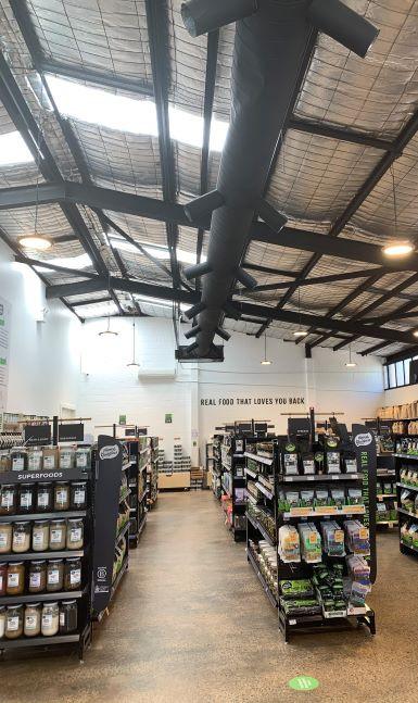 0813工作室 商业室内设计 有机食品用品商店