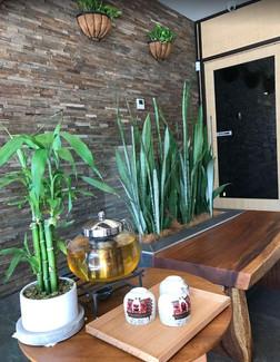 day spa customer area design