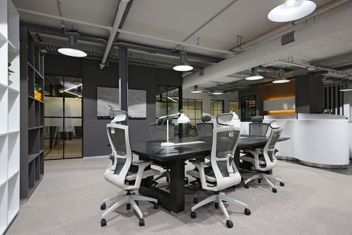 0813 Studio Commercial Interior Designers Sydney coworking space sydney serviced office design communal area 1