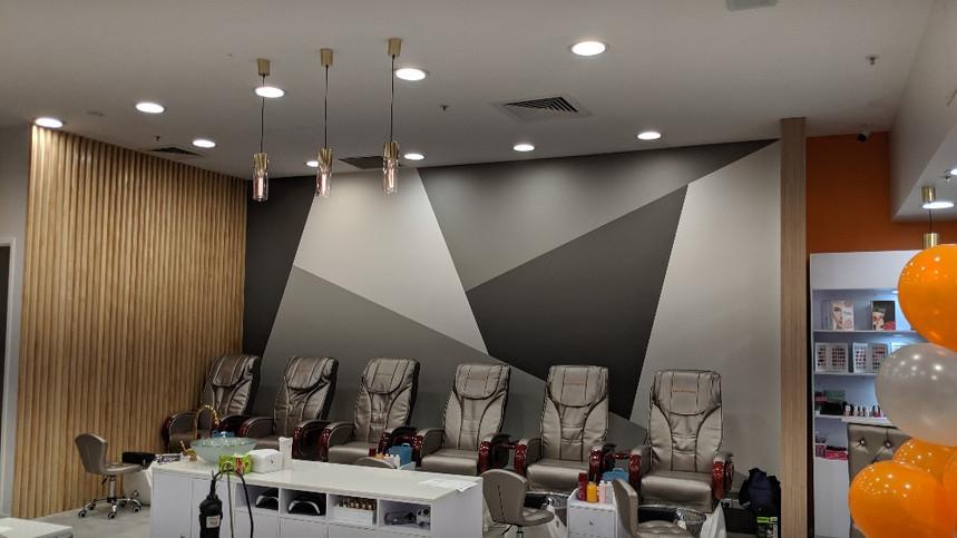 0813工作室 商业室内设计 商业店铺设计 美甲店设计