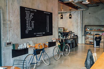 Do you like an interesting cafe design? Here we present a local cafe shop located in city fringe trendy area, with industrial look and feel influenced design.