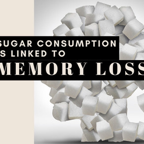 Sugar consumption is linked to memory loss