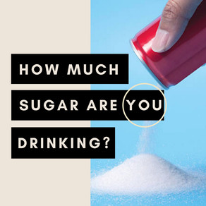 How much sugar are you drinking?