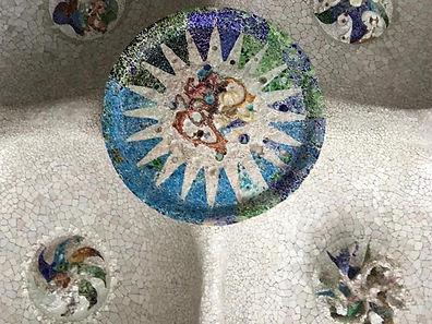 Mosaïque du Parc Guell