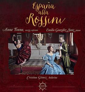 Cover album for sound disc Espana alla Rossini, which debuts in March of 2015 with iTinera
