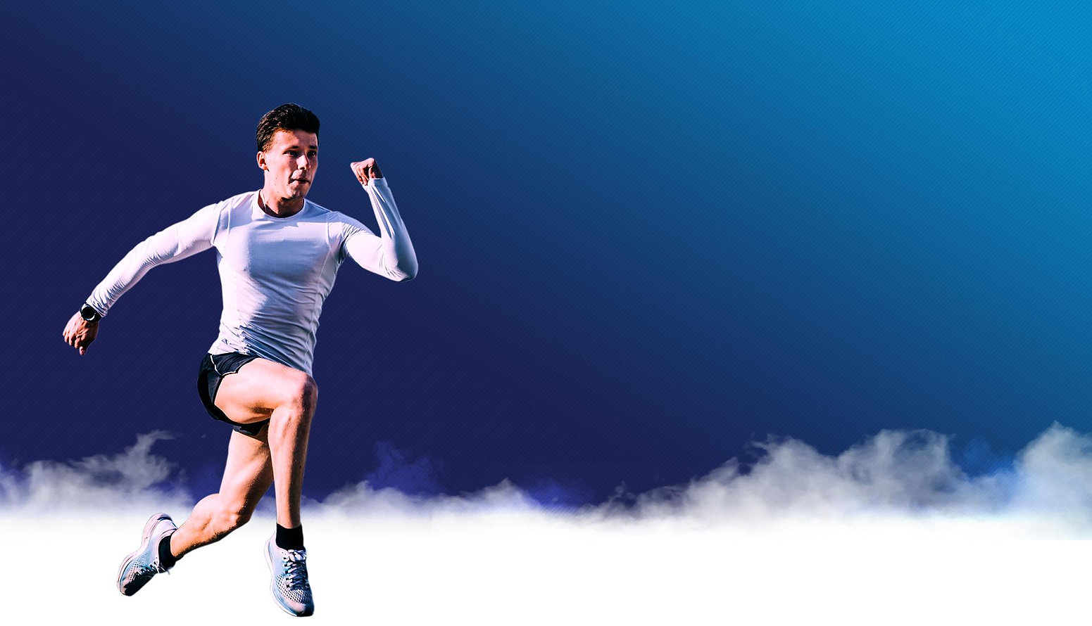 Precision Athlete Running man