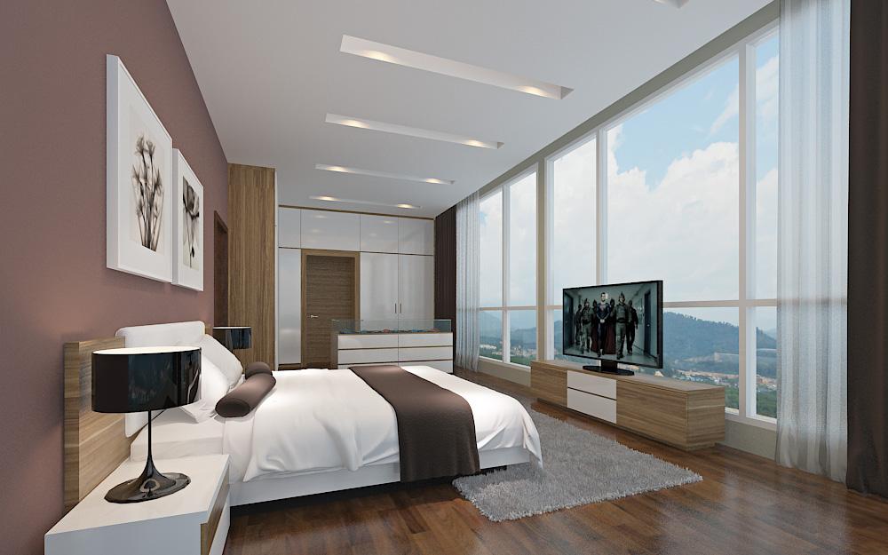 Corner Penthouse Master Suite