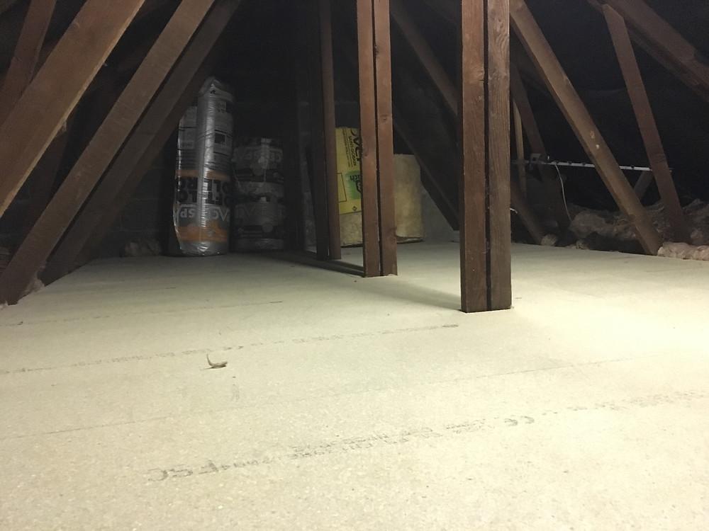 Raised floor in loft