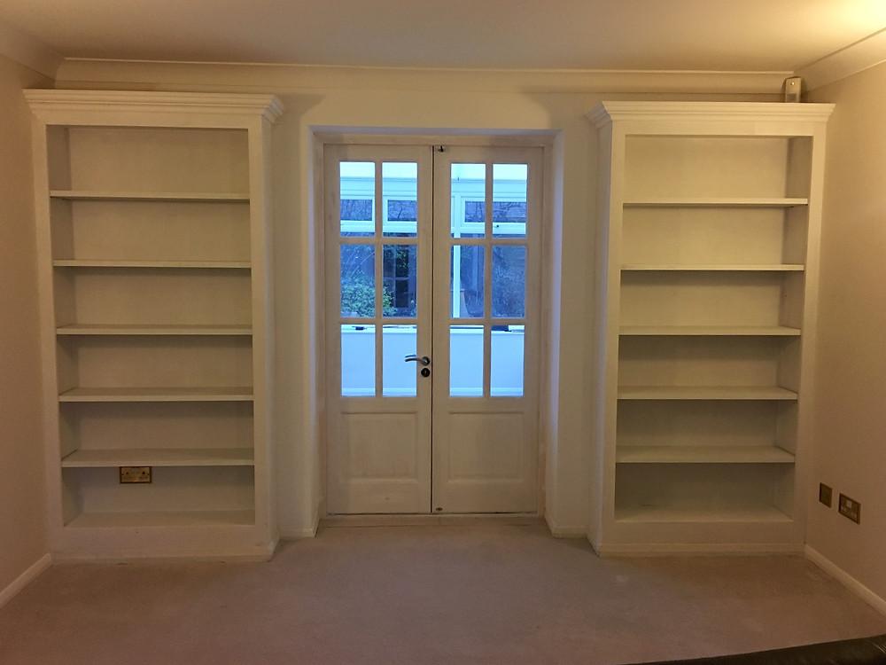 Bespoke bookshelves fitted in Summertown
