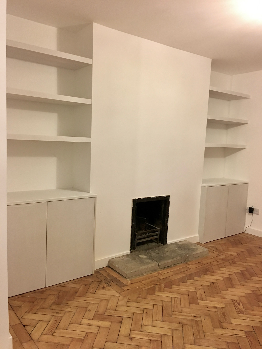 Alcove cupboards fitted in Cowley