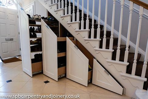 Bespoke Under Stair Storage Cumnor