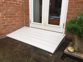 New timber ramp in Botley