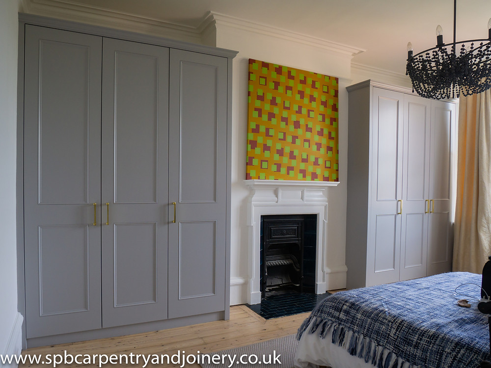 Shaker style wardrobe fitted by SPB Carpentry & Joinery