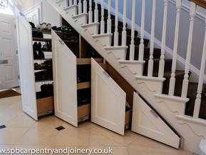 Bespoke Fitted Under Stair Storage