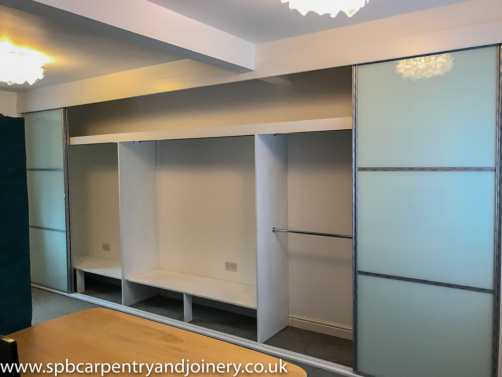 Sliding Wardrobe Fitted by SPB Carpentry and Joinery