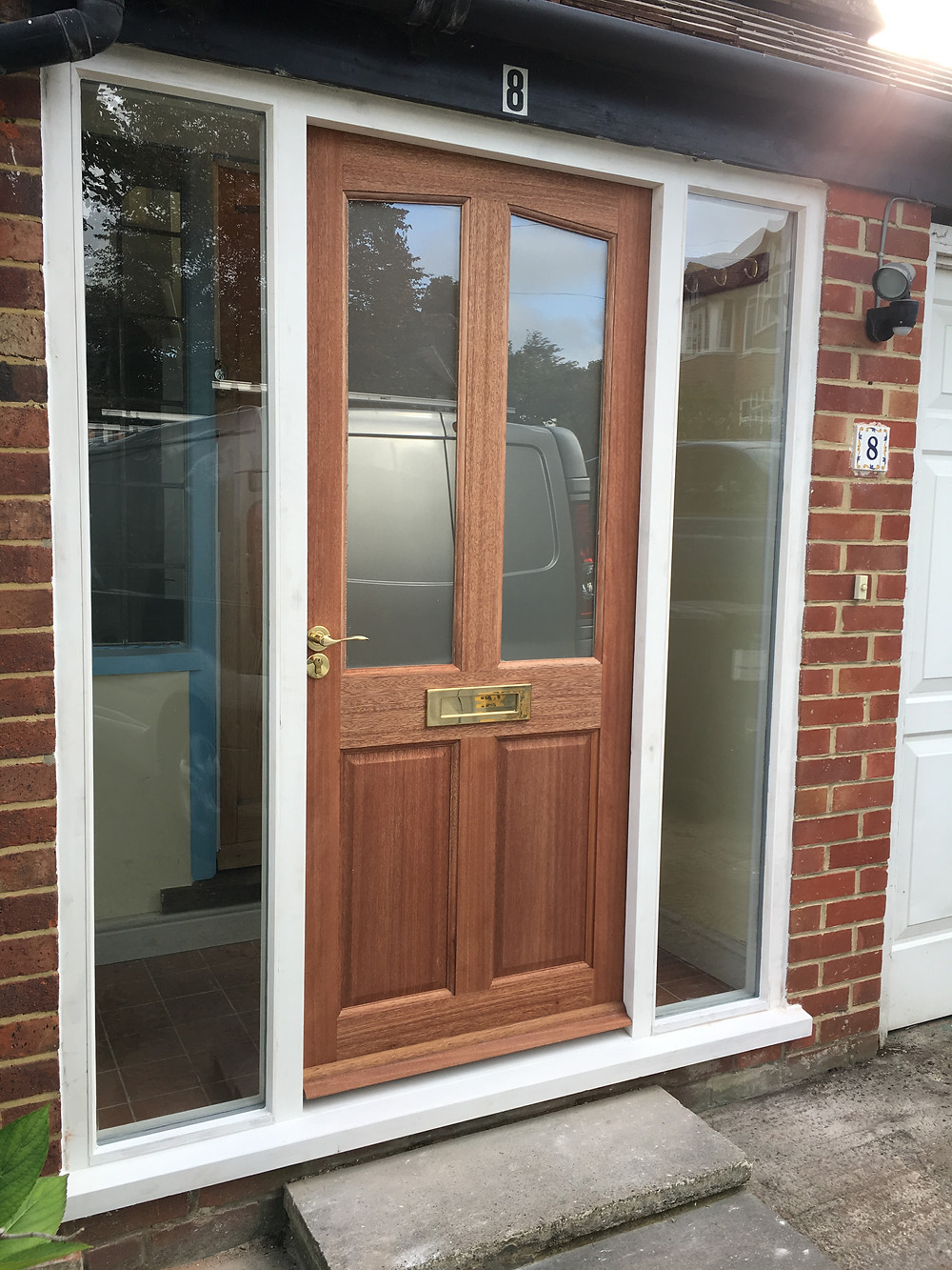 Front door and frame Botley